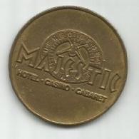 MAJESTIC Casino Belgrade Serbia Game Token SR245/1 - Casino