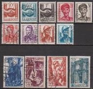 Saarland1948 MiNr.239 - 251   O Gest Wiederaufbau Des Saarlandes ( D 3824 ) Günstige Versandkosten - 1947-56 Allierte Besetzung