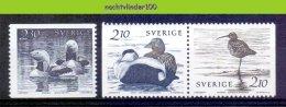 Mdl067 FAUNA VOGELS EEND DUCK ENTE BIRDS VÖGEL AVES OISEAUX SVERIGE 1986 PF/MNH - Collections, Lots & Series