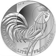 """FRANCIA    10€  2.016  2016  SILVER-PLATA  SC/UNC   """"GALLO""""   T-DL-11.905 - Francia"""