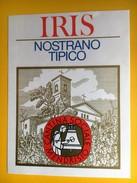 2406 - Suisse Tessin Iris Nostrano Tipico Cantina Sociale Mendrisio - Etiquettes