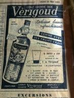 VERIGOUD-( Publicité Issue D'un Journal Ancien ( 1958) - Publicités