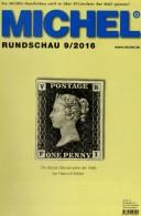 Briefmarken Rundschau MICHEL 9/2016 Neu 6€ New Stamps Of The World Catalogue/ Magacine Of Germany ISBN 978-3-95402-600-5 - Announcements