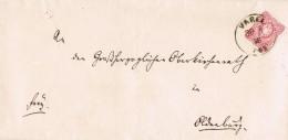 19914. Envuelta VAREL (Alemania Reich) 1878 - Cartas