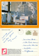 Knock Shrine, Mayo, Ireland Postcard Posted 1990 Stamp