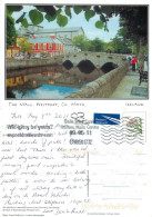 The Mall, Westport, Mayo, Ireland Postcard Posted 2011 Stamp