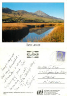 Croagh Patrick Mountain, Mayo, Ireland Postcard Posted 1990 Stamp