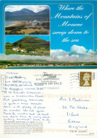 Mourne Mountains, Down, Northern Ireland Postcard Posted 2008 Stamp - Down