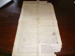 AA1-5 Tract électoral (Néerlandais) - Kiezers Van Bevere Lijst N°4 - 1921 - Livres, BD, Revues