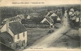 """- Allier - Ref - B793 - Cosne Sur L Oeil - Faubourg Des Rois - Petit Plan """" Vincent """"- Specialite De Vins - Magasin - - Autres Communes"""