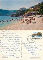 Poros, Cephalonia, Greece Postcard Posted 1986 Stamp - Greece