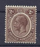 150026653   BRITISH   HONDURAS  YVERT  Nº  73  */MH - Brits-Honduras (...-1970)