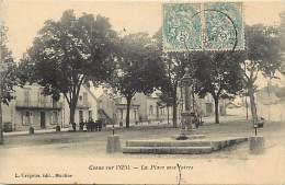 - Allier - Ref - B791 - Cosne Sur L Oeil - Place Aux Foires - Pompe A Eau - Pompes A Eau - Carte Bon Etat - - France