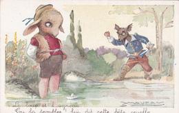 """Mauzan - Le Loup Et L'Agneau - """"Tu La Troubles! Lui Dit  Bête Cruelle!"""" - Gani Paris - Mauzan, L.A."""