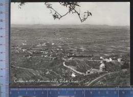 337/124  CARTOLINA POSTALE 1952 CORTONA PANORAMICA VAL DI CHIANA PER AREZZO - Arezzo