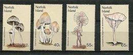 Norfolk ** N° 298 à 301 - Champignons - - Timbres