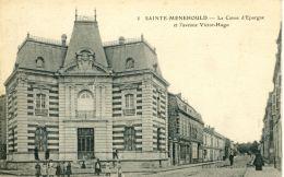 N°51643 -cpa Sainte Menehould -la Caisse D'épargne- - Banques