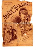 AMOUR ET MENSONGE PAROLES ET MUSIQUE DE ANDRE CIDALE - Music & Instruments