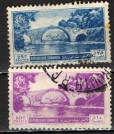 LIBANO - 1950 - ANTICO PONTE ARABO SUL NAHR EL KELB - USATI - Libano