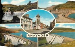 Dams, Rhayader, Montgomeryshire, Wales Postcard Unposted - Montgomeryshire
