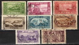 LIBANO - 1925 -  IMMAGINI DEL LIBANO - GRAND LIBAN - USATI - Libano