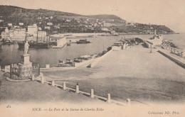 Dép. 06 - Nice. - Le Port Et La Statue De Charles Félix. Collections ND. Phot. N° 434 - Squares
