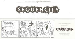 BD - Marque-page - Sequencity - Ill. Rémi Farnos - Lesezeichen