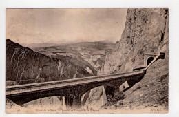 CPA-WX1388-LIGNE DE LA MURE TUNNEL ET PASSAGE DE LA CLAPISSE 1906 - La Mure