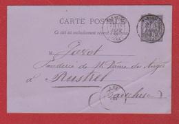 Carte Postale   / De Marseille / Pour Rustres   / 17 Janvier 1885