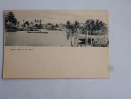 Carte Postale Ancienne : NIGERIA : LAGOS : Creek Of The Lagune - Nigeria