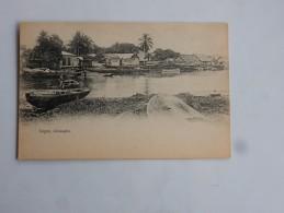 Carte Postale Ancienne : NIGERIA : LAGOS : Idumagbo - Nigeria
