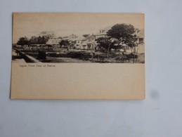 Carte Postale Ancienne : NIGERIA : LAGOS : Front View Of Marina - Nigeria