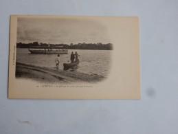 Carte Postale Ancienne : LE KUILU : Le Passage Est Gratis - Congo - Brazzaville