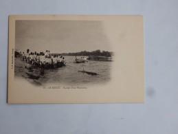 Carte Postale Ancienne : LE KUILU : Equipe D'une Plantation - Congo - Brazzaville