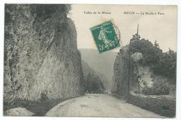 CPA REVIN, LA ROCHE A FAUX, ARDENNES 08 - Revin