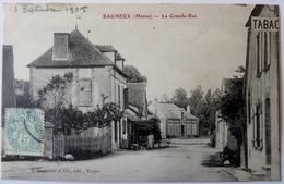CPA  51 - Bagneux - La Grande Rue - 1905 - Autres Communes