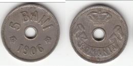 **** ROUMANIE - ROMANIA - 5 BANI 1906 J CAROL I **** EN ACHAT IMMEDIAT !!! - Roumanie