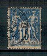 Ph-France-France N° 90 Paix Et Commerce - 1876-1898 Sage (Type II)