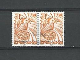 1997 N° 746  SE TENANT LE CAGOU  30F OISEAUX DU PARADIS OBLITÉRÉ - Neukaledonien
