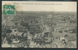 NEVERS - VUE PANORAMIQUE - EGLISE DE LOURDES ET LE QUARTIER DE LA GARE   - Obe2360 - Nevers