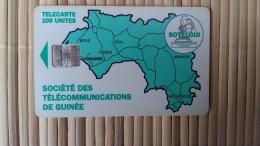 Phonecard Guinee Belgium - Guinee