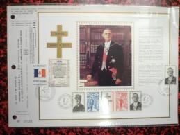 Feuillet CEF Spécial Grand Luxe N°20 - De Gaulle (General)