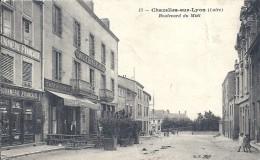 LOIRE - 42 - CHAZELLES SUR LYON - Bd Du Midi - Altri Comuni