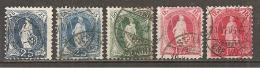 Schweiz 1899/1907 // Michel Lot O - 1882-1906 Armoiries, Helvetia Debout & UPU