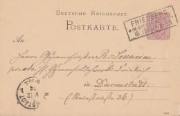 DR Ganzsache R3 Friedberg Im Grossh. Hessen 16.12.84 - Deutschland