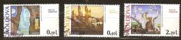 Moldova Moldavie 1995 Yvertn° 135-37 (°) Used Oblitéré  Cote 3,70 Euro Cept Europa - 1995