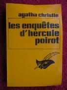 Les Enquêtes D'hercule Poirot  (Agatha Christie) éditions Des Champs Elysées - Agatha Christie