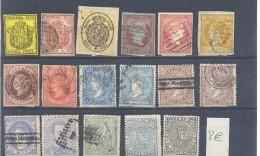 Sellos Varios 1er.centenario - 1872-73 Reino: Amadeo I
