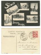 Suisse // Schweiz// Switzerland// Valais //  Sion, Bonne Année - VS Valais