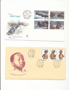 South Africa Transkei 66-68 Child Health Care 83-66 Tourism Wild Coast Day Of Issue Cancel 1979-1980 A04s - Transkei